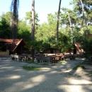 Кафе на курорте Пицунда.