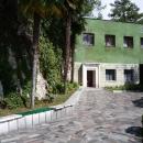 Вход на дачу Сталина в Абхазии. Поселок Холодная речка.