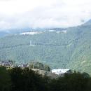 Олимпийские объекты в горах Аибга и Псехако.