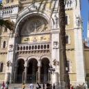 Романо-византийский стиль Кафедрального собора в Тунисе.