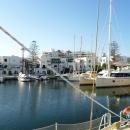 Яхтенная Марина порта Эль-Кантауи. Тунис.