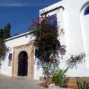 Дома бело-голубой гаммы в Сиди-Бу-Саиде. Тунис.