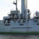 Крейсер «Аврора» в Санкт-Петербурге.