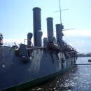 Достопримечательность Санкт-Петербурга – крейсер «Аврора».