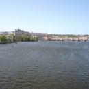 Вид на Пражский Град. Прага. Чехия