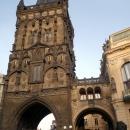 Пороховые ворота в Праге. Чехия.