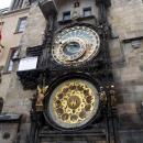 Астрономические часы (Орлой) в Праге. Чехия.
