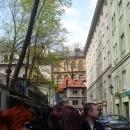 Еврейский квартал и старое Еврейское кладбище в Праге. Чехия.