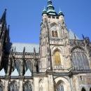 Собор Святого Вита находится в центре Пражского града. Прага. Чехия.