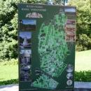 План-схема парка Дендрарий.