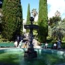 Центральный фонтан Амуры. Дендрарий в Сочи.
