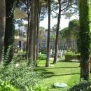 Зеленая территория отелей Турции. Отдых на курортах Турции.