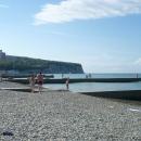 Пляжи курортного поселка Дивноморское.