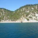 Прогулка на катере в окрестностях курорта Дивноморское.