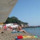 Курорт Дивноморское. Пляж.