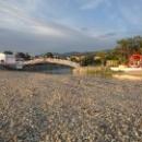 Каменный мост на пляже Дивноморское.