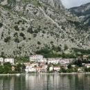 Поселок Доброта в Боко-Которской бухте. Отдых в Черногории.