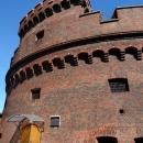 Башню Дона в Калининграде можно узнать по круглой форме.