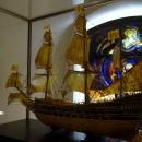 Модель Шведского военного корабля «Васа» в музее янтаря в Калининграде.