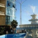 Вид от отеля «Дельфин» на набережную Сочи.
