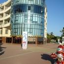 Отель «Дельфин» в Сочи. Конец центральной набережной Сочи.