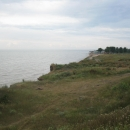 Окраина станицы Должанской. Азовское море.