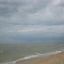 Пляжи Азовского моря в станице Должанская.