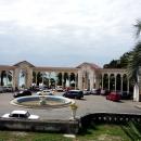 Колоннада в Гагре. Абхазия.