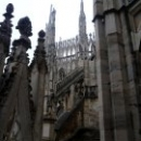 Миланский собор Duomo di Milano в стиле пламенеющей готики.