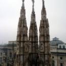 Базилика Дуомо в Милане строилась с 1386 по 1965 годы.