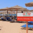 Пляж курорта Макади-Бей. Египет.