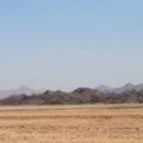 Пейзажи пустыни в Египте.