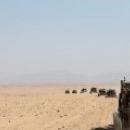 Катание на джипах по пустыне в Египте.