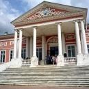 Главный дворец (Большой дом) усадьбы графа П.Б. Шереметева в Кусково.