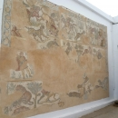 Древнеримские мозаики в Карфагене. Тунис.