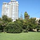 Вид на центр Сочи с Площади Искусств.