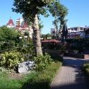 Сквер у Морвокзала Сочи.
