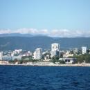 Концертный зал Фестивальный в Сочи. Вид с моря.