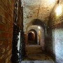 Коридор в казармах форта номер 11. Калининград.