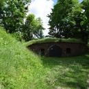 Артиллерийские казематы форта 11 Дёнхофф в Калининграде.
