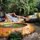 Детская площадка в парке. Гагра. Абхазия.