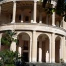 Колонны санатория Амра. Курорт Гагра в Абхазии.
