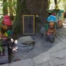 Детские площадки на курорте «Газпром» в Красной Поляне.