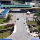 Вход и парковка в Горно-туристический центр «Газпром».