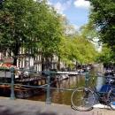 Велосипеды в Амстердаме Голландия