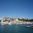 Сочи Гранд Марина — главный яхтенный порт страны.
