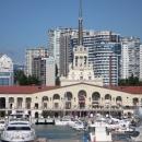 Морской вокзал Сочи. Сочи Гранд Марина.