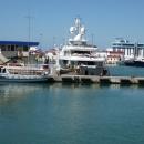 Новый морской вокзал Сочи — круизная линия.