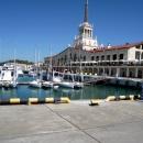 Морской вокзал Сочи.