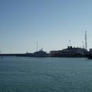 Акватория морского порта Сочи.